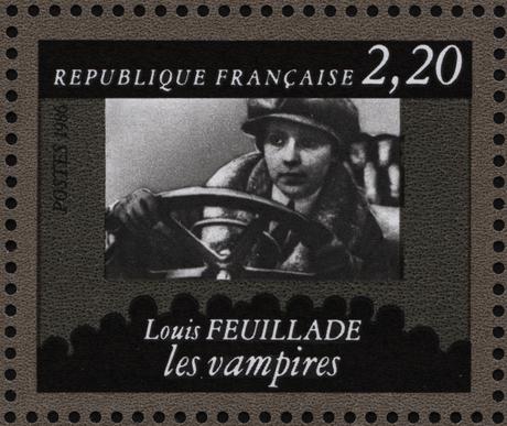 Timbre Les Vampires by Louis Feuillade (musée de la poste)