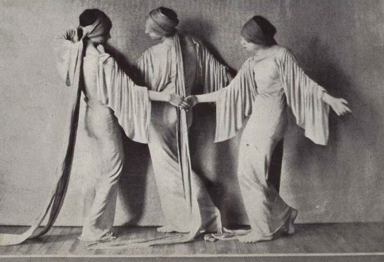 Soichi Sunami -Martha Graham Dancers in Danse Languide, 1927