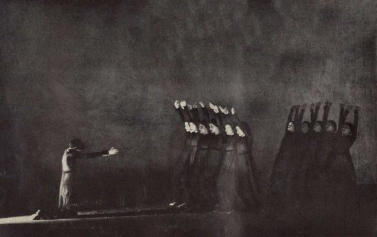 Soichi Sunami - Martha Graham Photograph of Heretic, 1929 (published in Dance Magazine July, 1929)