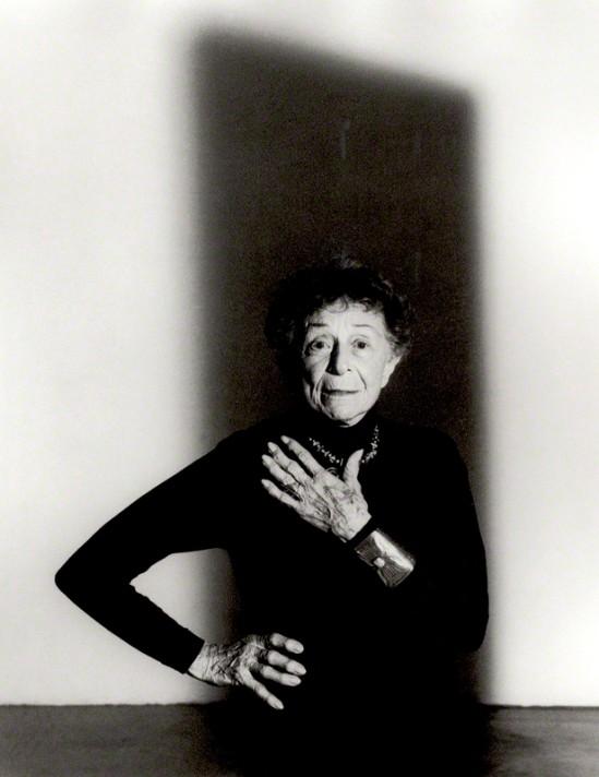 Ruth Bernhard by John Swannell , 1992