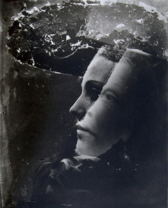 Dora Maar, Double portrait with hat, 1930s