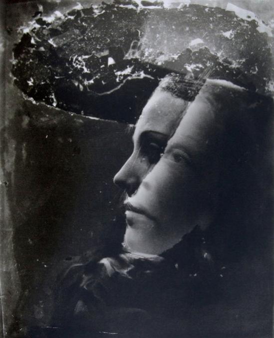 Dora Maar, Double portrait with hat, 1930s