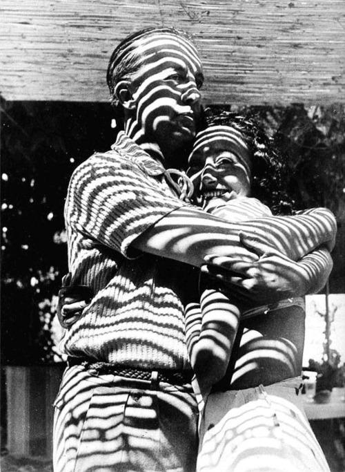 Dora Maar Paul and Nusch Éluard, Mougins 1937