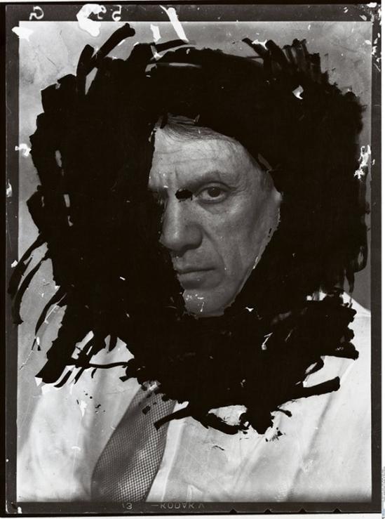 Dora Maar-  Portrait de Picasso, Paris Studio du 29 rue d'Astorg, hiver 1935-36