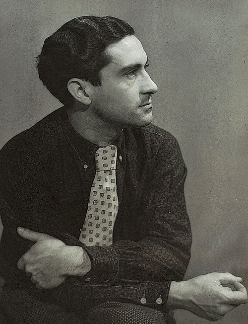 Dora Maar -Portrait of Georges Hugnet, 1934