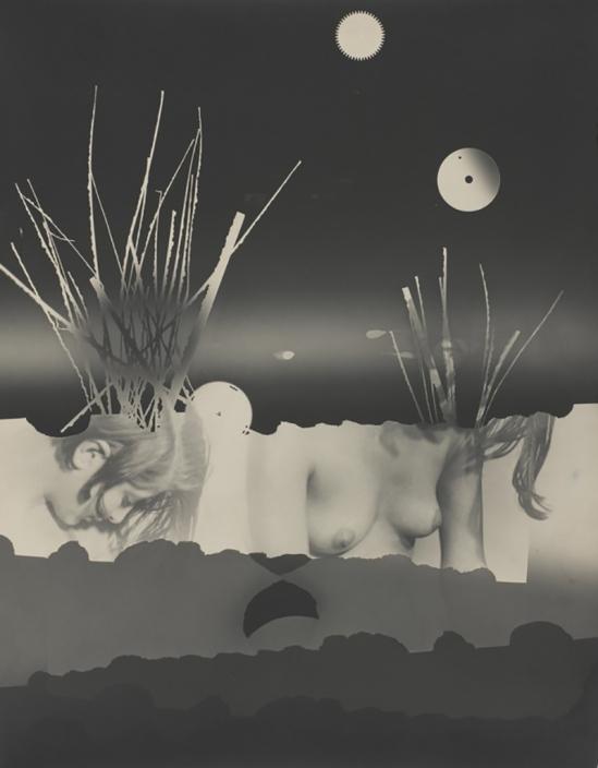 Aurel Bauh- Nu Photogramme 1931 © Guy Carrard – Centre Pompidou