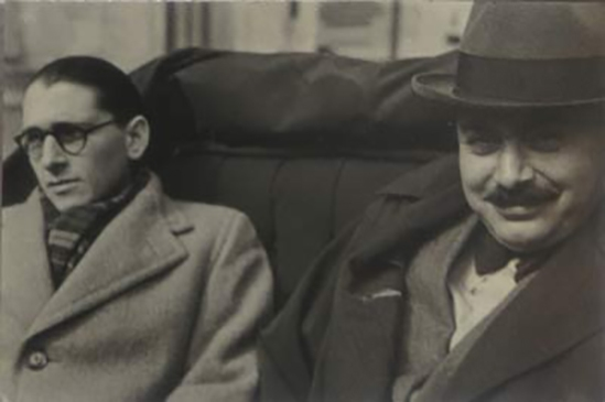 Aurel Bauh & Harry Brauner by Théodore Brauner 1937