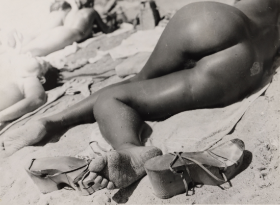 Aurel Bauh - Nu sur la plage, 1937-1940