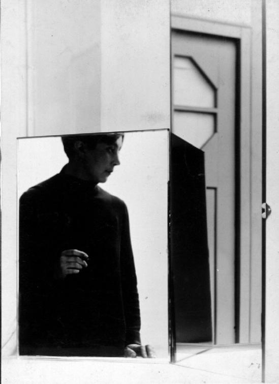 Florence Henri Portrait Composition (Margaret Schall), 1928