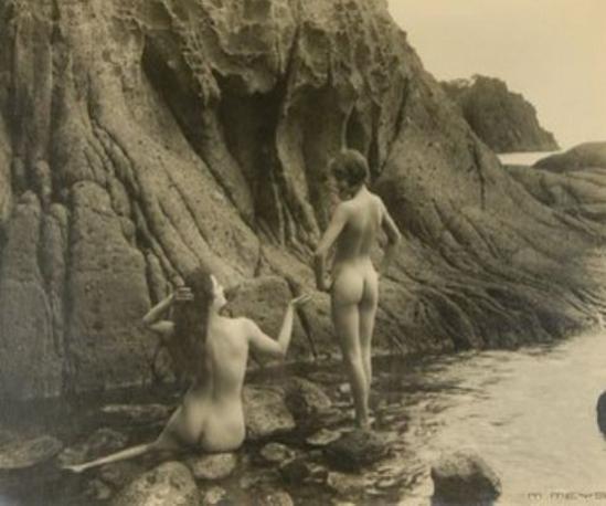 Marcel Meys- Études de nus féminins dans la nature, 1930 from Plein Air , Les éditions de Paris, Paris 1931