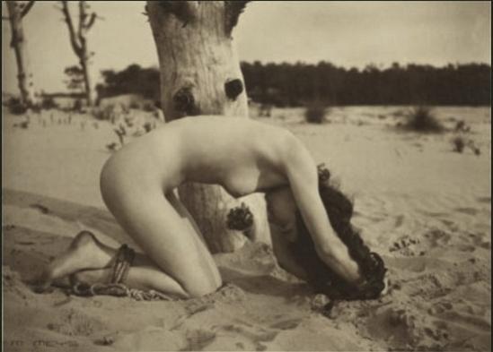 Marcel Meys - ETUDE DE NUS DANS LA NATURE, vers 1930