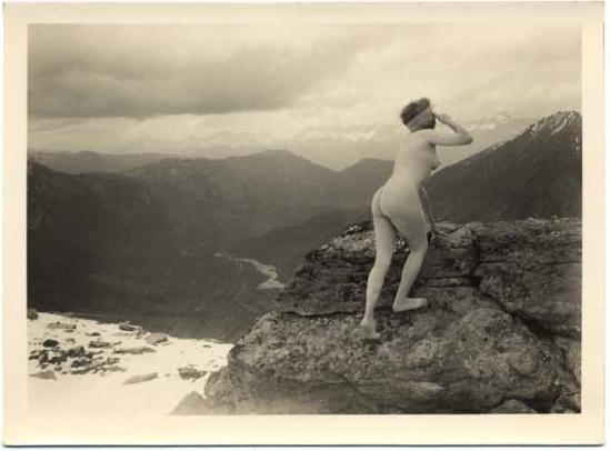 Marcel Meys femmes Étude de nu en plein air, de 1920 à 1930 (2)