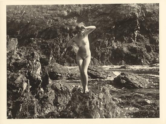 Marcel Meys femmes Étude de nu extérieur, 1920-1930