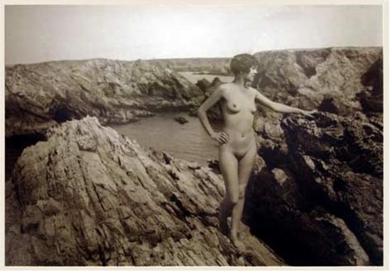 Marcel Meys femmes Étude de nu extérieur, 1930