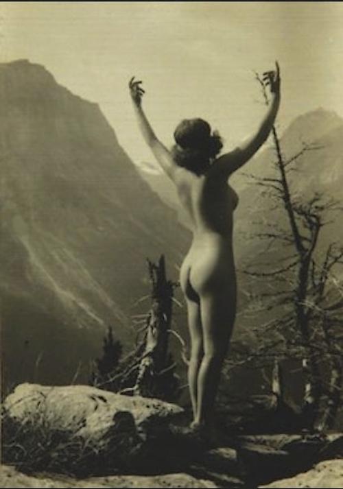 Montagne Meys Marcel- nude 1920