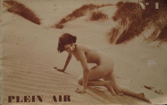 Meys Marcel- Plein Air ( cover) , Les éditions de Paris, Paris 1931 ( comprenant 32 nus)