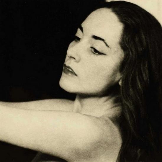 Man Ray- Portrait de Bona de Mandiargues , 1953