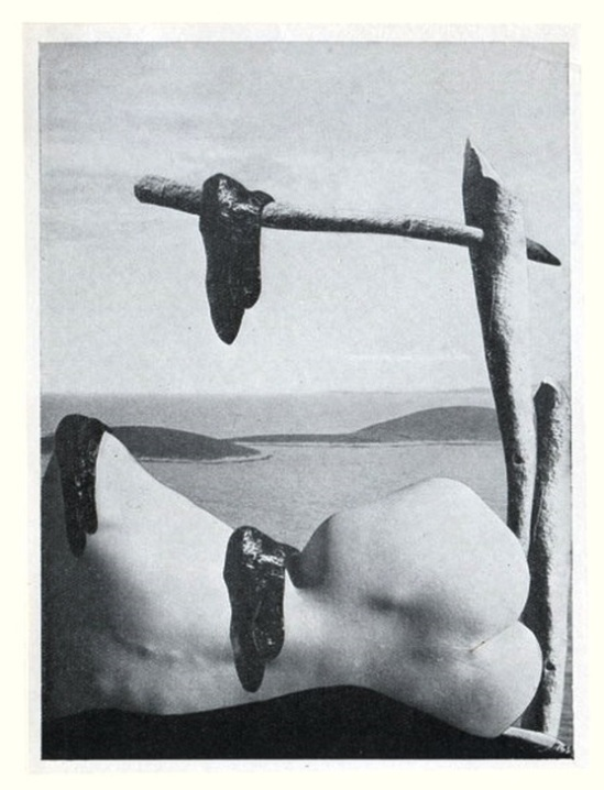 """couverture pour Raoul Ubac and Camille Bryen-""""Actuation poétique"""" , 1935"""