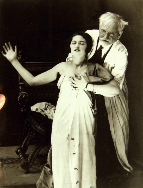 Alphonse Maria Mucha  and his daughter, Jaroslava 1926 © Alphonse Mucha Trust (2)