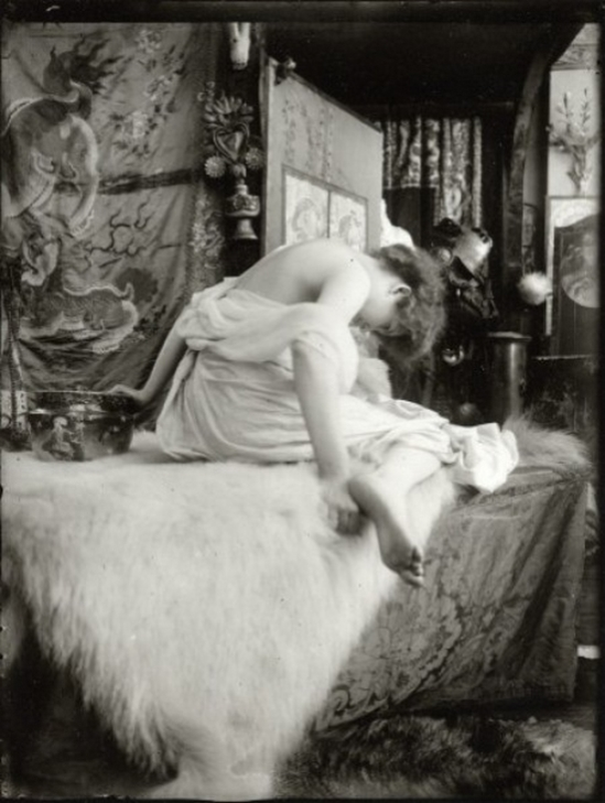 Alphonse Maria Mucha -Model , Studio du Val de grâce, Paris, 1901
