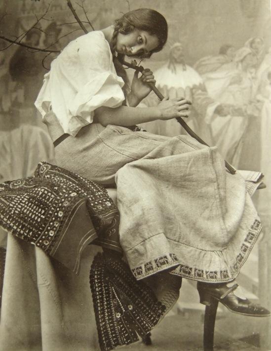 Alphonse Maria Mucha -Studio photography  His Daughter 1925s© Alphonse Mucha Trust