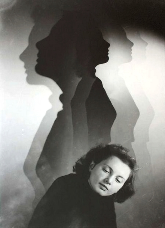 Edmund Kesting -Portrait with shadows, 1930 - Copie