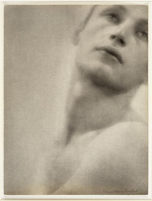 Laure Albin Guillot - sans titre (Portrait d'homme) vers 1935