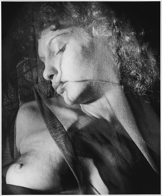 Alexander Hammid American (Linz, Czechoslovakia 1907 - 2004 New York, NY) Film production still portrait of Maya Deren (portrait of Maya Deren covered with gauze-like fabric), 1942-1947