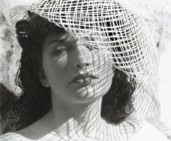 Alexander Hammid Hackensch- Portrait of Maya Deren, 1940s