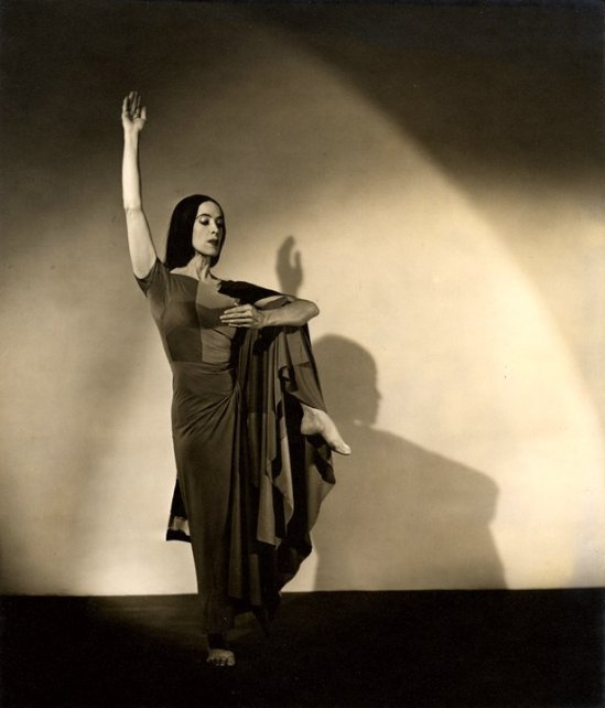 Barbara Morgan – Martha Graham – Indian from American Document, 1930s