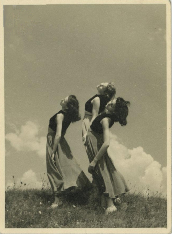 állai Lilli iskolája 1920-30 School of Lilli alla hungarian modern dance