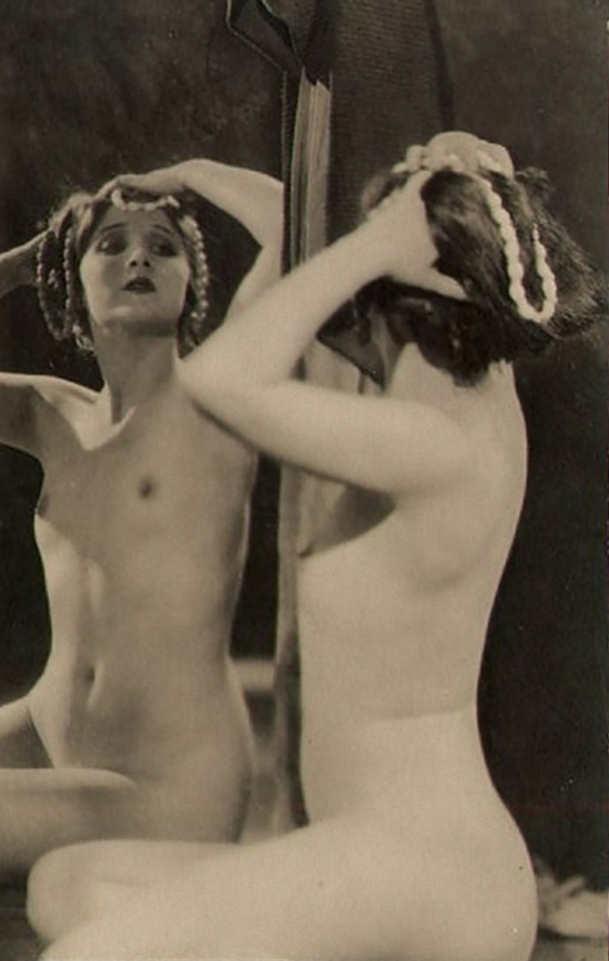 The Actress, Olive Ann Alcorn, by Xan Stark for Alta Studios, 1920