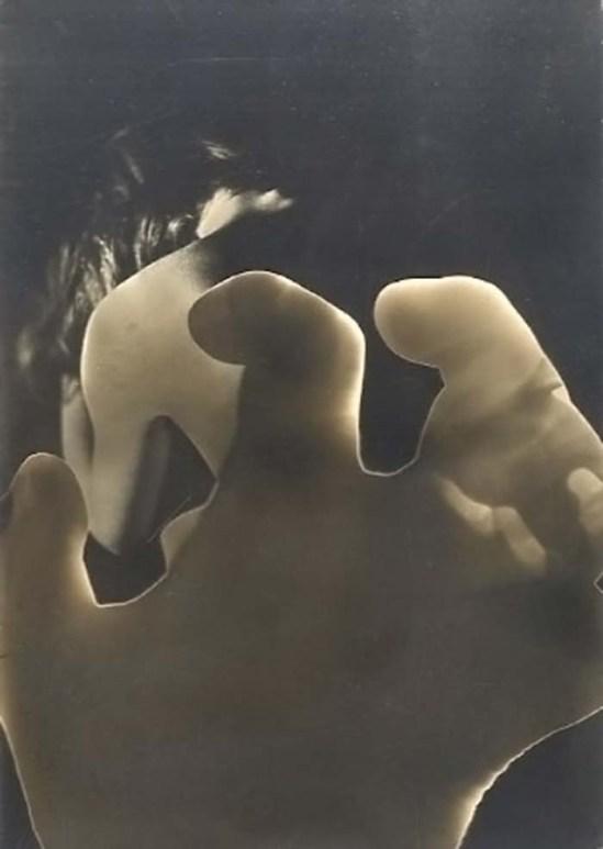Pierre Boucher Etude de nu. Rayogramme. 1930.