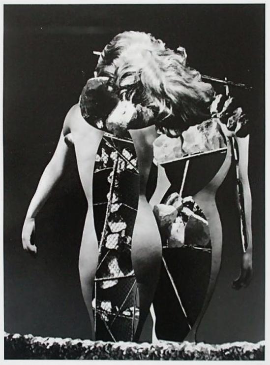 Raoul Ubac - Le combat de Penthésilée, Triomphe de la stérilité, photomontage , 1937
