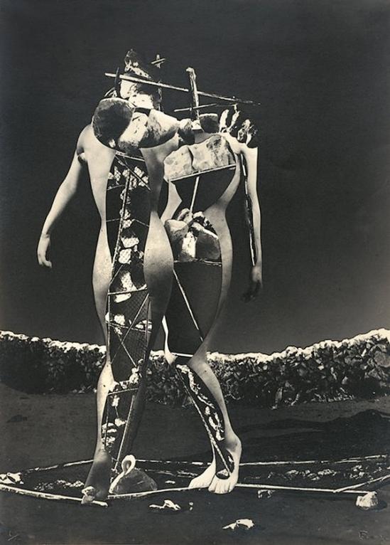 Raoul Ubac- Penthésilée 1937, Photomontage, solarisation Photomontage et solarisation © Adagp, Paris