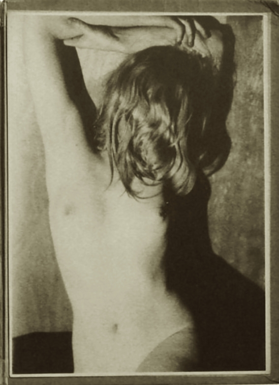 "Germaine Krull - Etude de nu, 1930 from ""Études de nu"". Par Germaine Krull. Preface by Jean Cocteau.With 24 loose illustrations after photographs printed in photogravure, Paris, Librairie des Arts décoratifs, ,1930."
