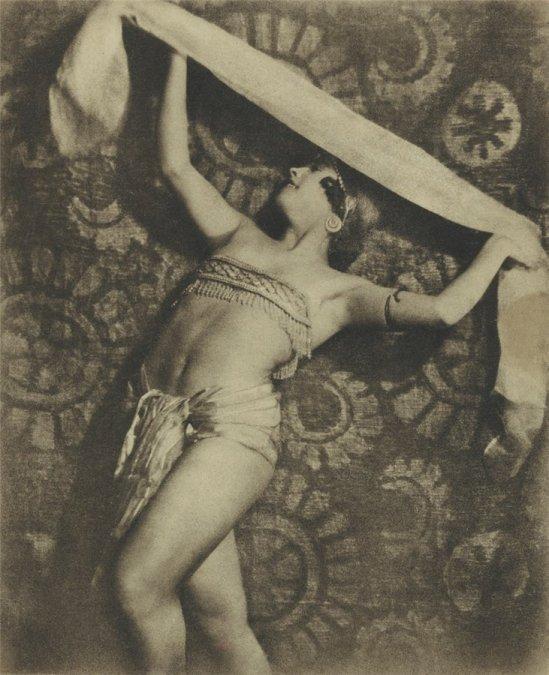 Alexander Danilovich Grinberg -Ballet dancer Maria Pechananya 1926