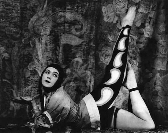 Alexander Danilovich Grinberg - Maria Peschanaya The Theatre of Meyerhold, 1920