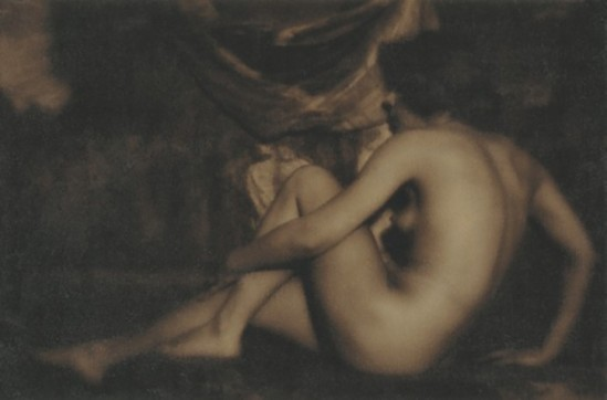 Alexander Danilovich Grinberg-, Nude dark tonality, 1926