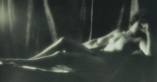 Alexander Danilovich Grinberg- Nude Study, Marguerite Chardinina 1920