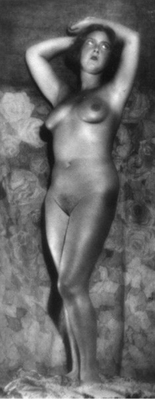 Alexander Danilovich Grinberg - Nude study Moscou, 1920s