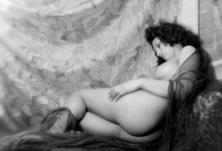 Alexander Danilovich Grinberg - nude study Moscou, 1929