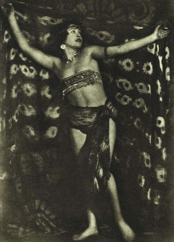 Alexander Danilovich Grinberg - Oriental Dance, Ballet dancer Maria Pechananya 1926
