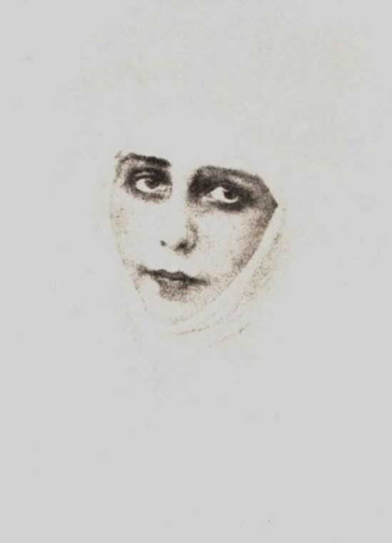 Alexander Danilovich Grinberg -Portrait de Natacha, 1910-15