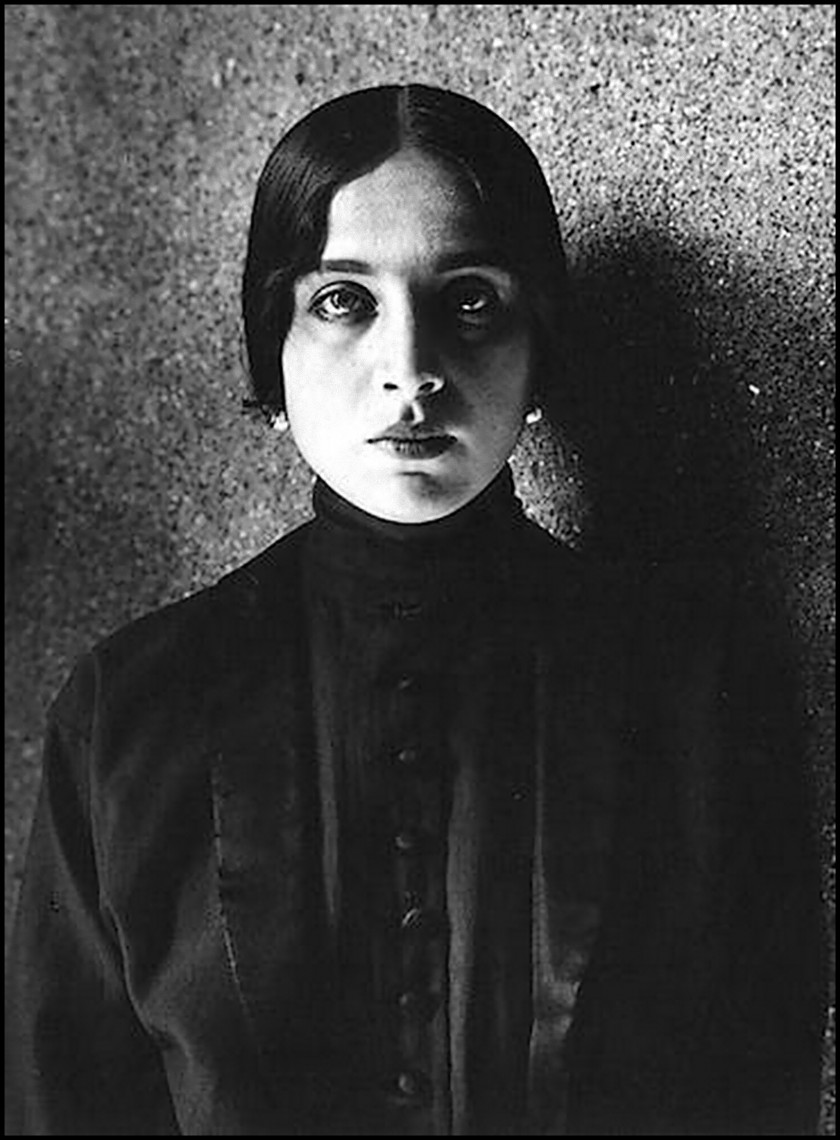 Alexander Danilovich Grinberg -Portrait Vera Kholodnaya, ca 1914
