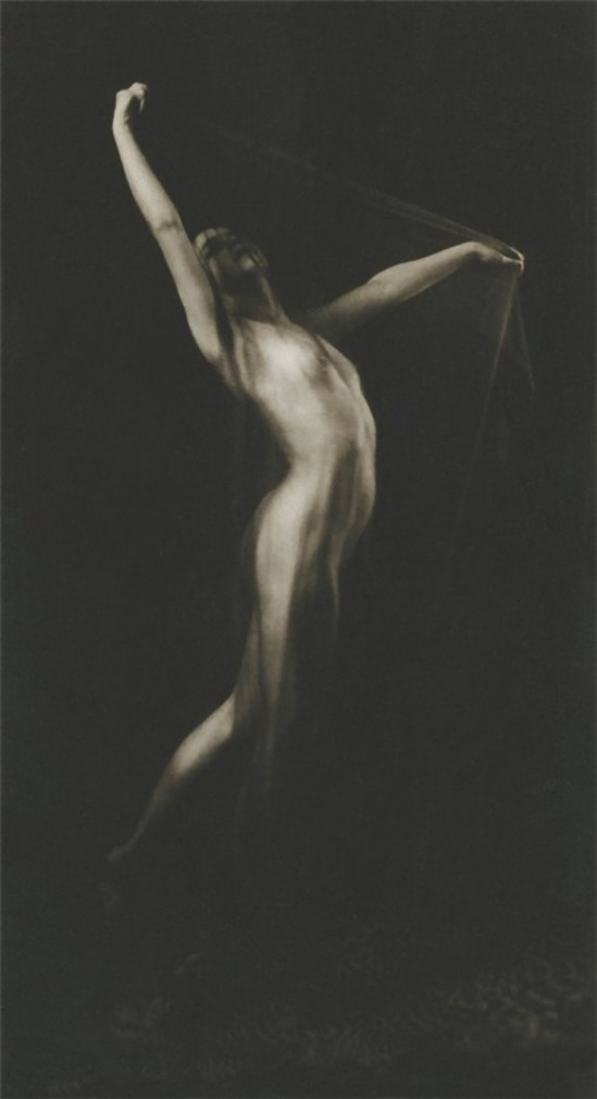 Alexander Danilovich Grinberg -Study of nude, 1920