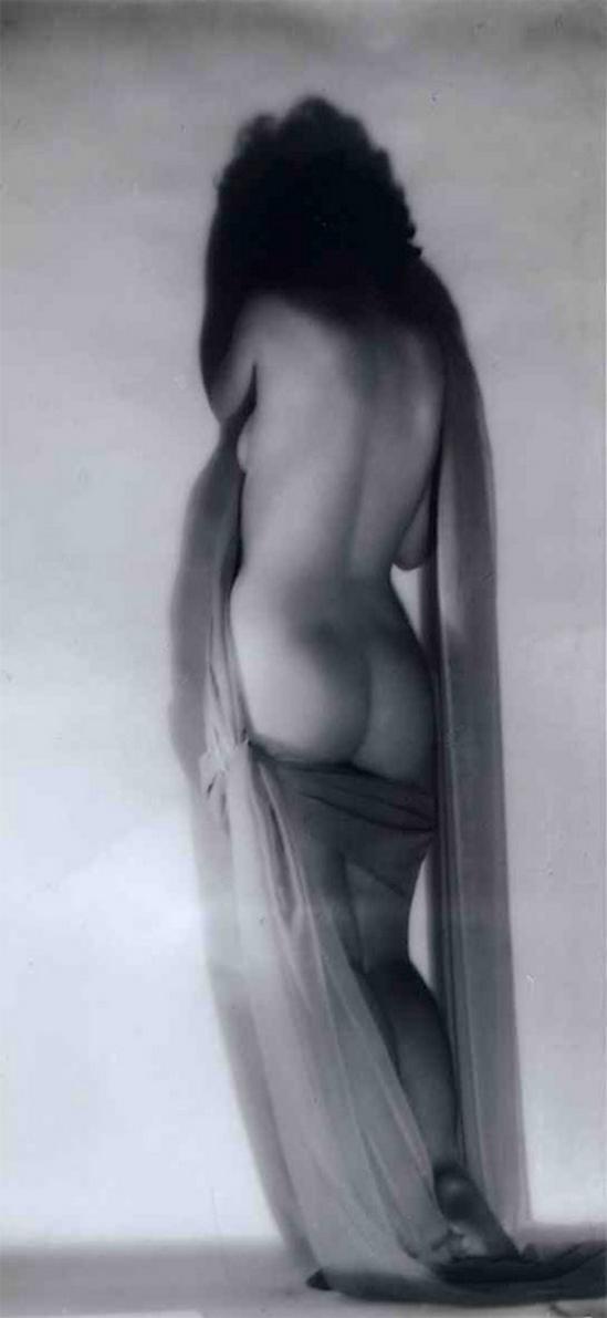 Alexander Danilovich Grinberg -Study of nude, 1930 (Barskaya Chardynina)