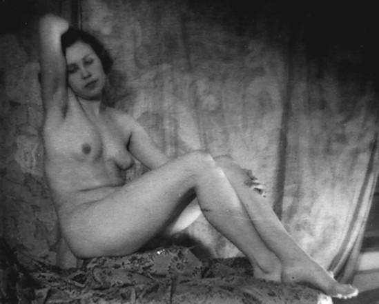Alexander Danilovich Grinberg -Study of nude, 1930 (Maria-Peschanaya)