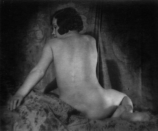 Alexander Danilovich Grinberg -Study of nude, 1930 Maria Peschanaya