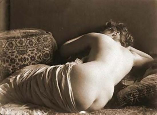 Alexander Danilovich Grinberg- Study of nude, 1930s_